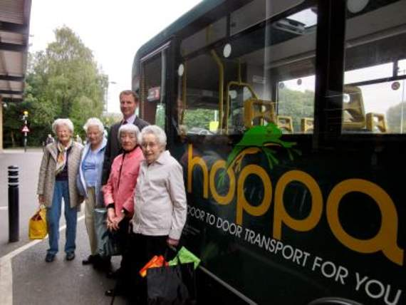 MP hitches a ride on hoppa