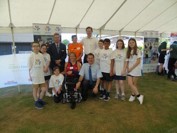 Sun shines on the first  county-wide Para Games