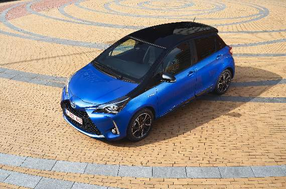 Bigger engine for updated Yaris
